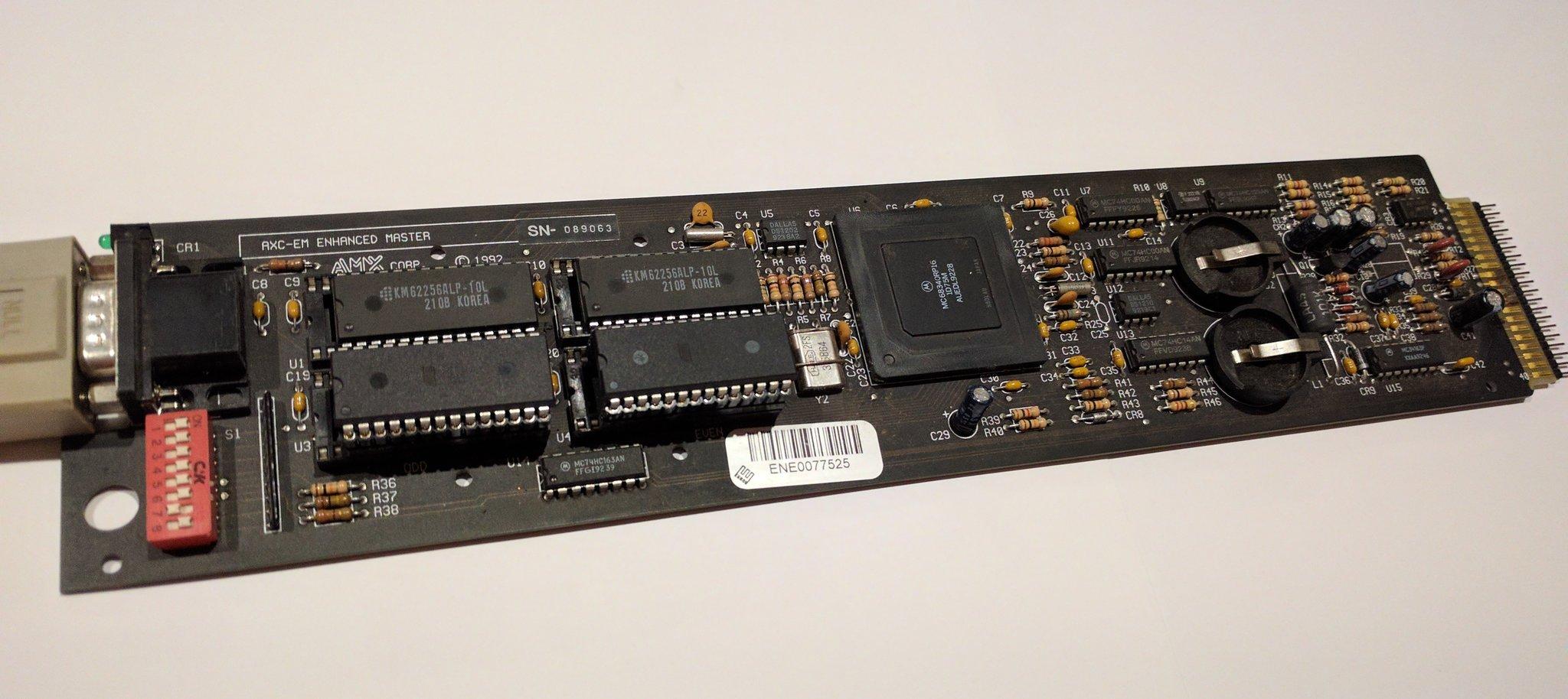 AMX AXC-EM board.