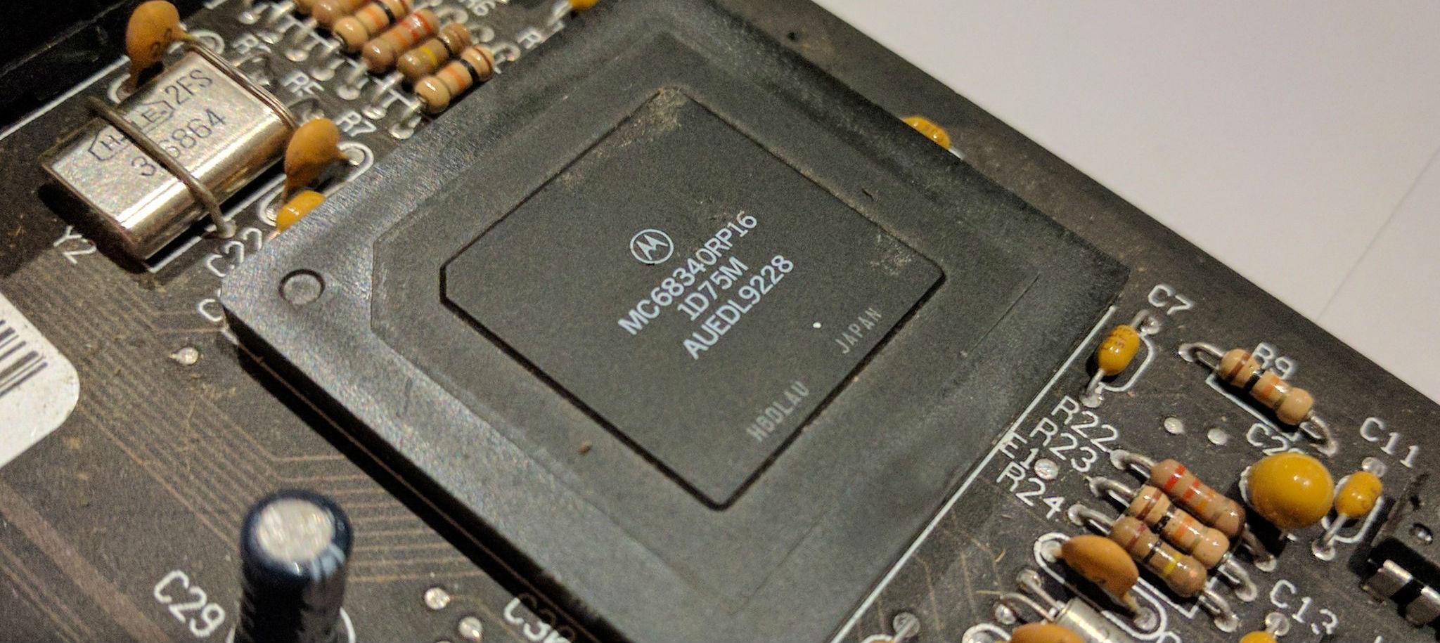 MC68340 cpu
